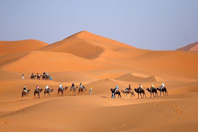 Merzouga ...... Golden Desert