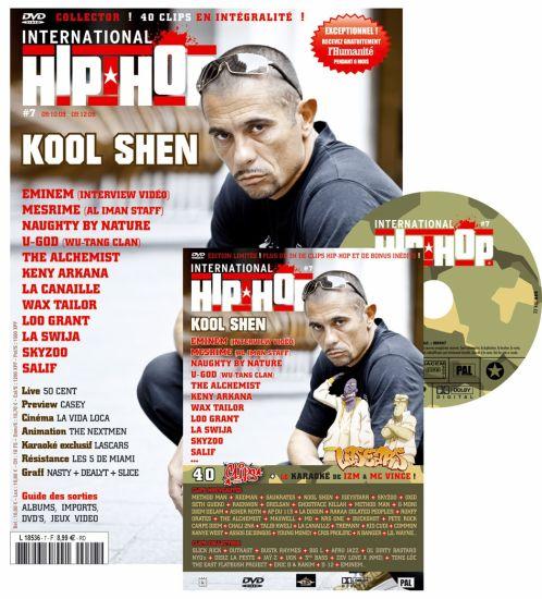 INTERNATIONAL HIP-HOP N°7 EN KIOSQUE MI OCTOBRE 2009 !!