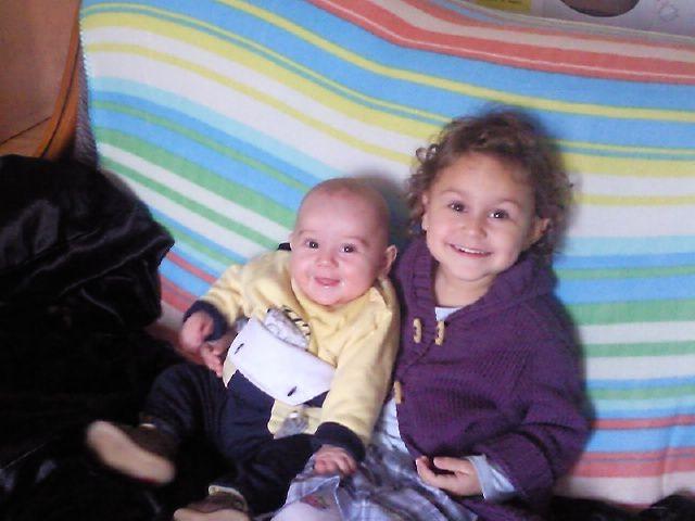 ma niece et mon neveu zoé et maceo jtd tre for