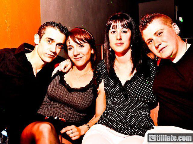 Jérémie, Mathilde, moi et Sophie à la Cage