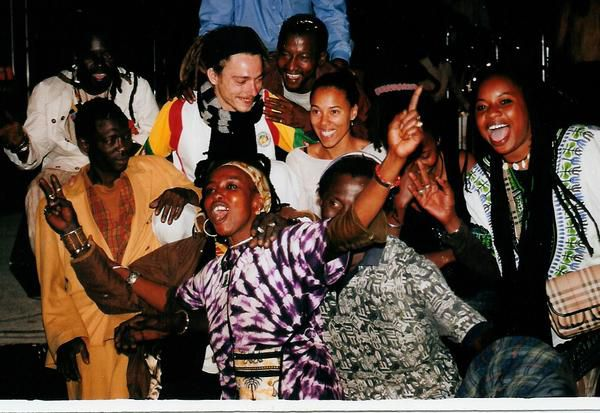 Après-concert à Dakar - Sénégal