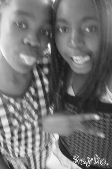 Cynthia et moi.
