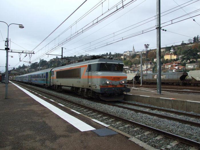Le train d'Agen
