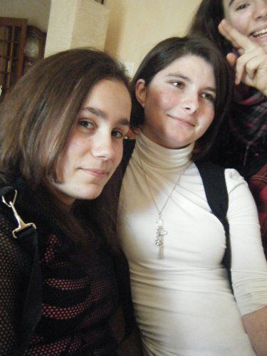 Laura et Mandy