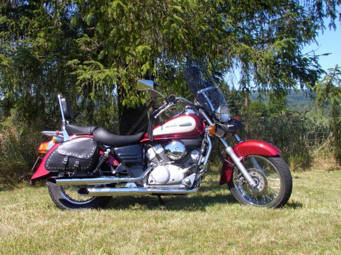 Et oui c'est ma moto est Rock'N'Roll