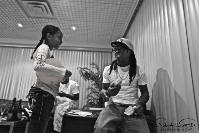 Birdman's daughter & weezy
