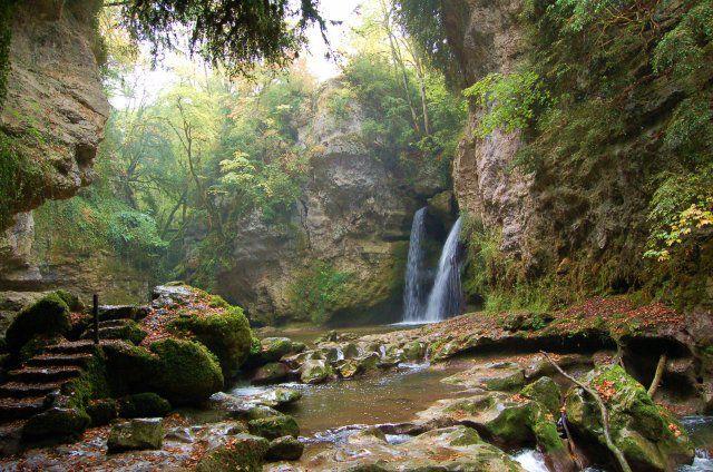 Cascade de La Tine de Conflens/ Vaud/  © 2009