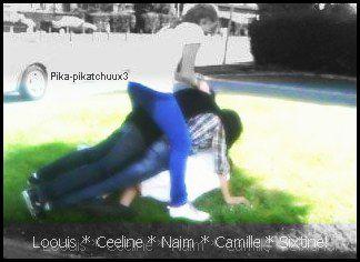 Louis * Camille * Celine * Naim * Sixtine!