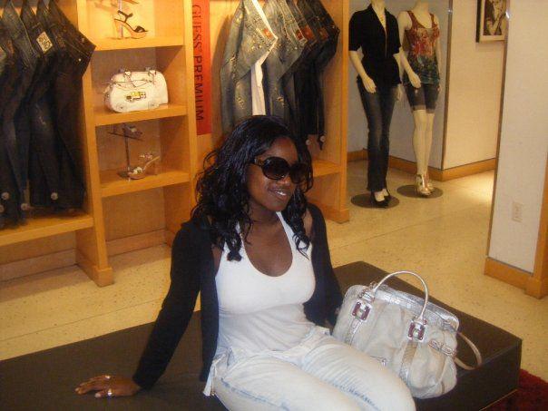Shopping at Guess ...