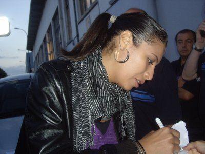 Autographe de Zaho