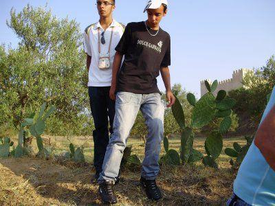 moi et guillaume en tunisie lannée derniere : P