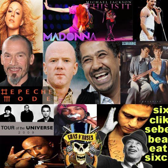 2pac Calogero Cheb Depeche Salvador Pany Somervil Madonna Ca