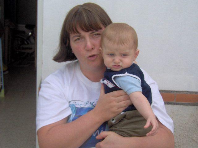 ma mère avec mon petit bout de choux