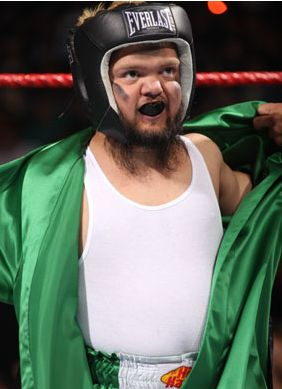 Hornswoggle en Boxeur !