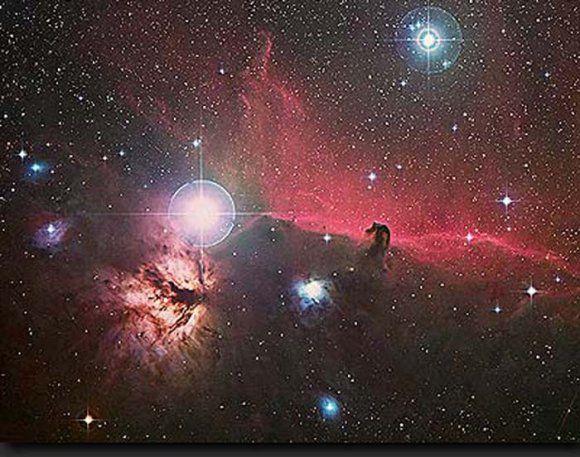 nébuleuse de la tête de cheval (IC343) et NGC 2024
