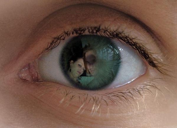 moi et mon tamour dans un oeil
