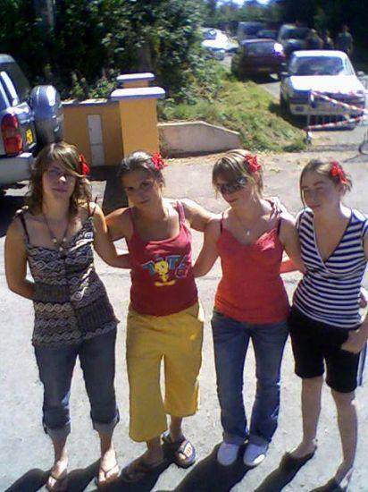 Emilie, moi, Charlotte et Mégane