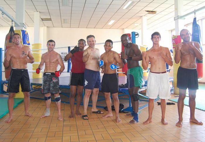 Moi, Jeff, Jason, Mihai, Thiébaud, Patrick, jc plus et Simon