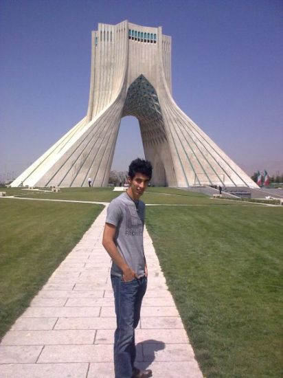 Azadi Square in Tehran