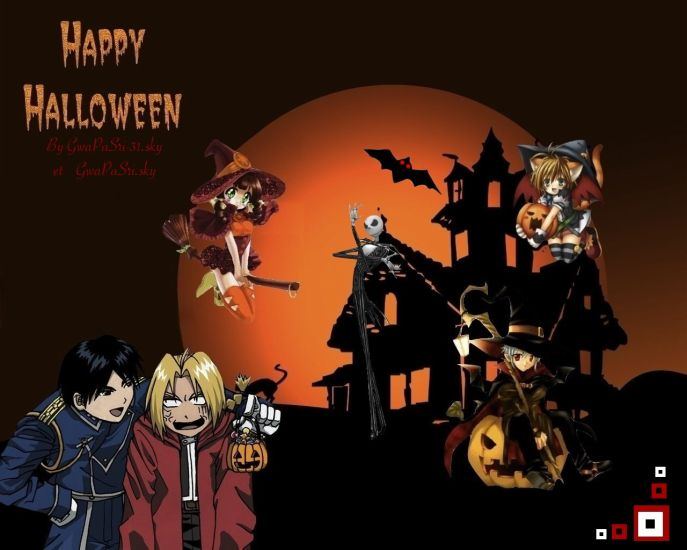Happy Halloween By Me