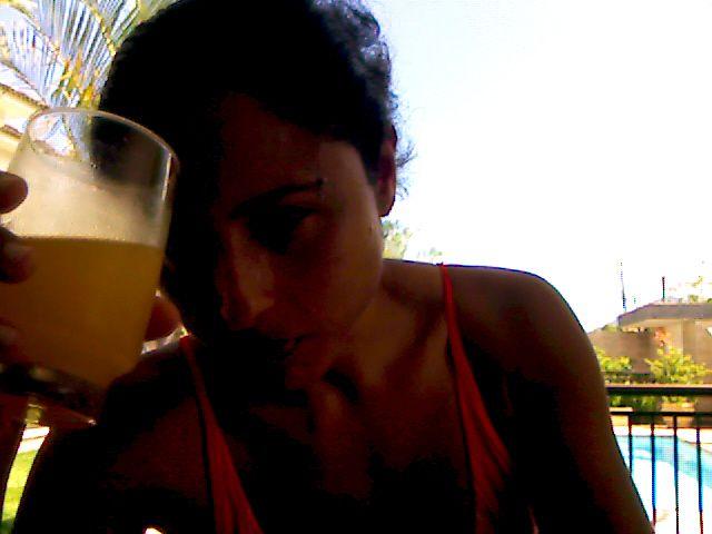 31/10/2009 - LE SAMEDI À LA PISCINE ET AVEC MON PORTABLE !!