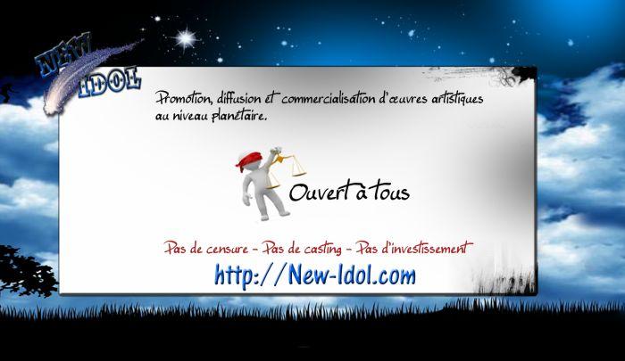 Artistes rejoigner nous ! http://new-idol.com