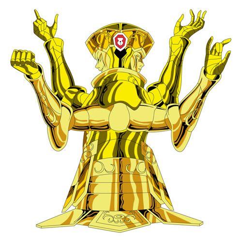 l'armure d'or des gemeaux