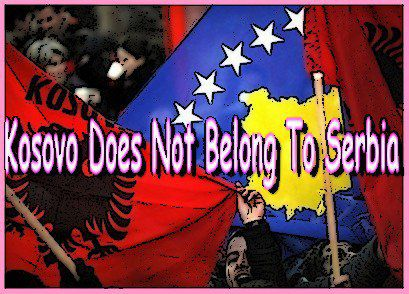 KOSOVO DOES NOT BELONG TO SERBIA =D <3