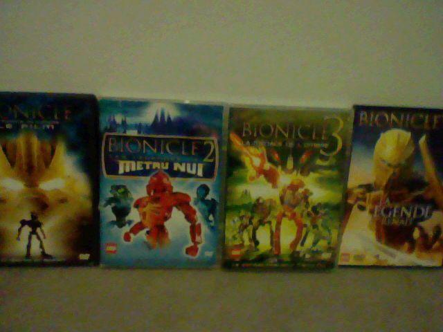 mes 4 FILM BIONICLE