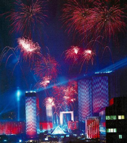 Concert gigantesque à La Défense 2,5 millions de spectateurs