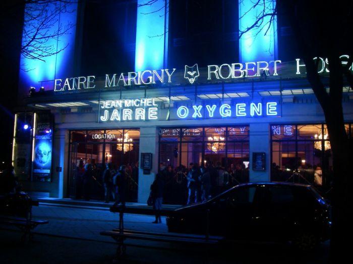 Oxygène au théâtre Marigny, décembre 2007.