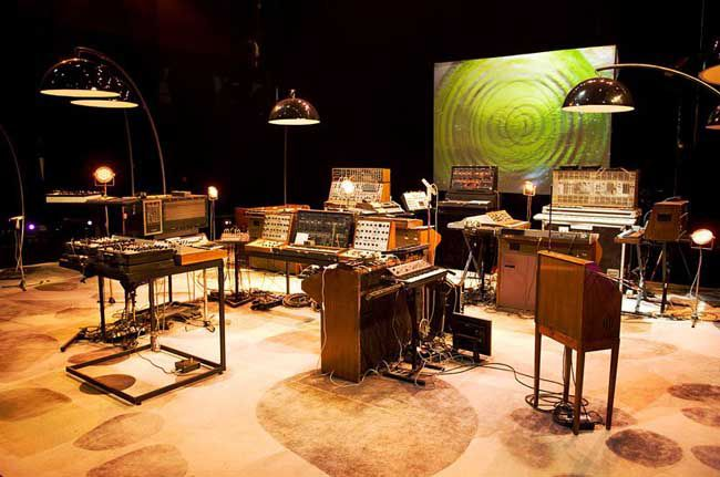 Les instruments d'Oxygène 3D (2007) au grand complet.