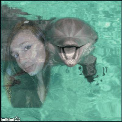 je flote dans l eau