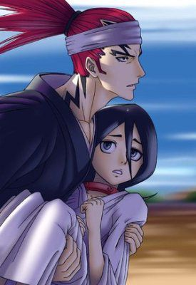 Renji et Rukia