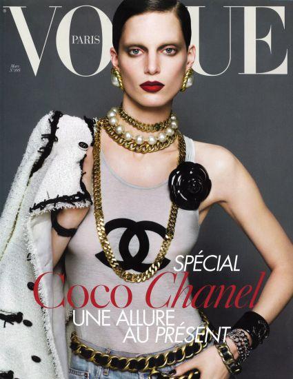 Couverture Vogue Français Special Chanel