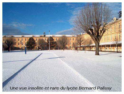 Palissy sous la neige :D