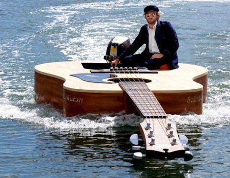 guitare bateau