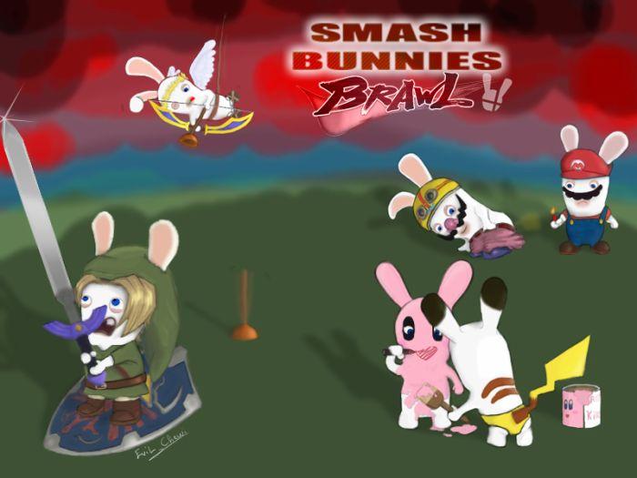 Smash bunies brawl