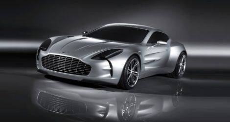 Aston Martin ONE 77 , ah si j'étais riche ! ! !