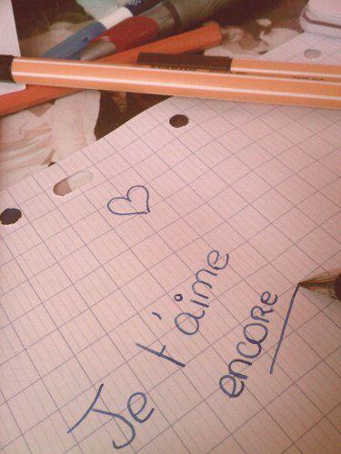 Je t'aime encore :$