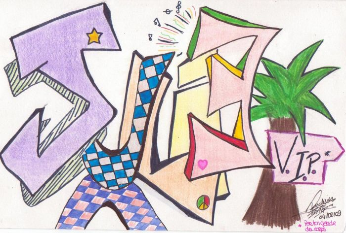 """Mes dessins préférés: """"  JULIE v.i.p. """""""