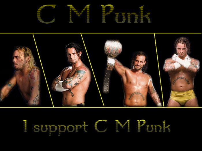 CM punk For Ever