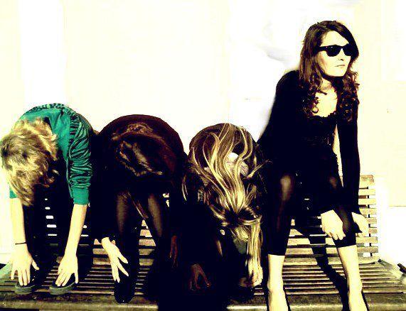 Moi, Marina, Estelle & Alizé <3