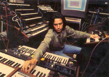 Jarre à l'époque d'Equinoxe (1978)