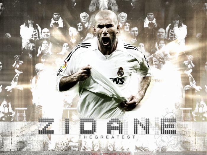 Zidane la star du ballon rond