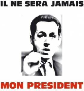 Tu Ne Sera Jamais mo, President !!