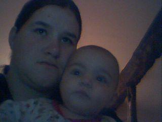 me voici avec ma petite princesse
