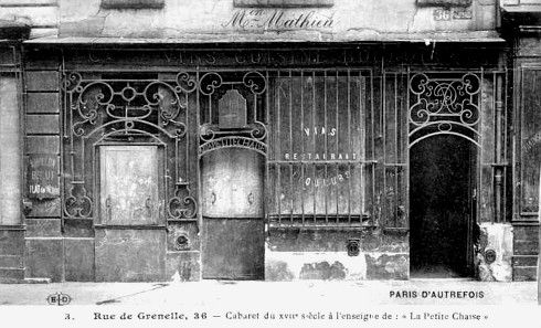 Le plus vieux restaurant de Paris.
