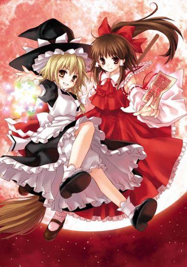 Anju (teinte en blonde, vous verrez après pourquoi)et Aurore