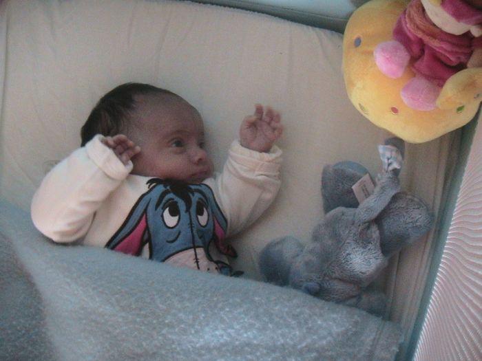 la naissance de ma fille isis      42 cm et 2kg280